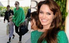 Intymios Angelinos Jolie paslaptys iš praeities