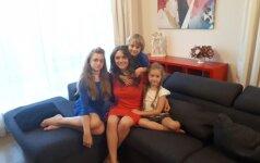 Suradusi mėgstamą veiklą klaipėdietė ja užkrėtė ir tris savo vaikus