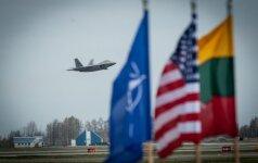 Неделя была спокойной для истребителей миссии Балтийского воздушного патруля НАТО