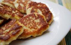 Sūrio blyneliai – patys sočiausi