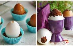 Velykų belaukiant: kepame keksiukus kiaušinio lukšte