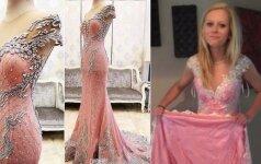 Mergina užsisakė suknelę už 223$, o gavo štai ką...