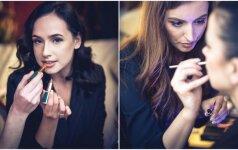 Išskirtiniame lūpų dažų pristatyme - būrys žinomų Lietuvos moterų