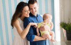 Psichologė įvardija, kokioms šeimoms susilaukus vaiko kyla daugiau bėdų