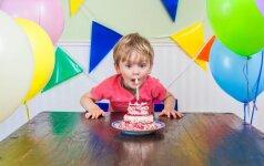 8 žingsniai, kaip surengti geriausią gimtadienį vaikui