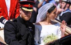 Susituokė princas Harry ir Meghan Markle
