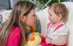 Kai sakote vaikui žodį NEGALIMA, atminkite kelis svarbius dalykus