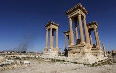 Боевики ИГ разрушили фасад римского амфитеатра в Пальмире