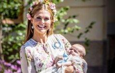 Gražiausios akimirkos iš karališkųjų krikštynų Švedijoje (FOTO)