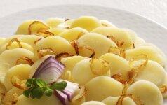 GARDUMĖLIS: tinginių bulvių apkepas