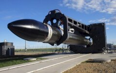 Впервые в мире запущена ракета с частного космодрома