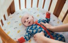 Pilvo diegliai: 7 būdai padėti vaikui