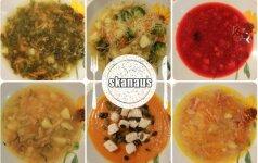 GREIČIAU NEBŪNA: 8 naminių sriubų receptai