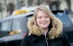Литовка из Донецка села за руль такси в Вильнюсе: наверное, мне повезло
