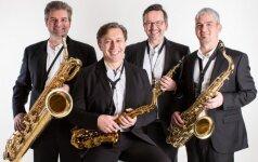 Vingio parke – pašėlę saksofonai iš Vokietijos