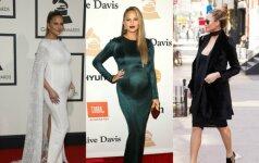 Stilingiausios Holivudo nėštukės grožio paslaptys