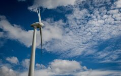 Производство энергии на ветряных станциях в Литве выросло на 54%