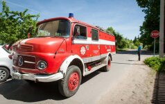 Лентварис: пожарные не доехали на вызов - по пути разбили Opel