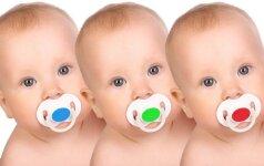 Klaipėda džiaugiasi gimusiais trynukais FOTO
