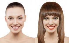 Virtualus makiažas ir šukuosena: išbandyk su savo nuotrauka