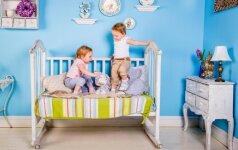 FOTO: kaip originaliai įrengti vaiko kambarį