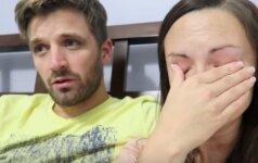 10 mln peržiūrų sulaukusi nėščia pora šiandien plūsta ašaromis VIDEO