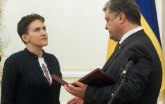 Савченко готова и воевать, и мириться, и быть президентом