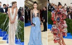 """""""Met Gala"""" stilius: gražiausios ir drąsiausios šių metų suknelės"""