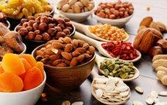 Ką privalu žinoti renkantis riešutus ir sėklas