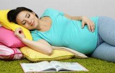 34 nėštumo savaitė: venk kilnoti sunkius svorius