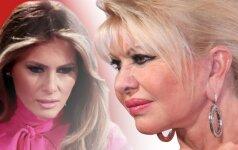 Dabartinė ir buvusi – Donaldo Trumpo žmonų stiliaus perliukai