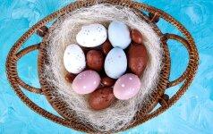Feisbuke plinta nematytas kiaušinių marginimo būdas