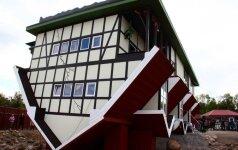 В Литве появился первый в Балтии перевернутый дом