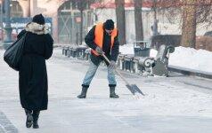 В Вильнюсе после гололеда ждет лишь небольшая передышка