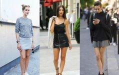 Madingiausias rudens sijonas ir 5 stilingi deriniai