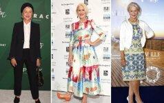 Stiliaus dosjė. Helen Mirren – 72-ejų ir labiau savimi pasitikinti nei bet kada anksčiau