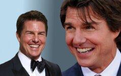 Kas nutiko Tomo Cruise`o veidui?