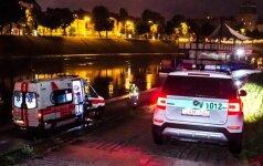 В Вильнюсе из реки вытащили утопленника