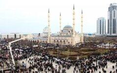 На столицу Чечни обрушился ураган