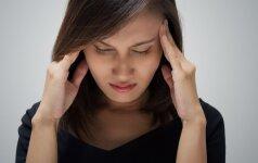 Kada galvos skausmas signalizuoja apie rimtą bėdą