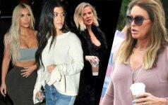 Karas tarp Kardashian ir jų patėvio: tiesą sakant, mes nebebendraujame