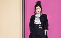Šorena – naujausios dizainerės Dianos Vapsvės drabužių kolekcijos veidas