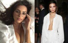 Gražuolė Emily Ratajkowski sulaukė kritikos: tokias krūtis geriau slėpti