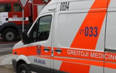 Несчастье в Палепюкай: спасателям пришлось разрезать сеялку