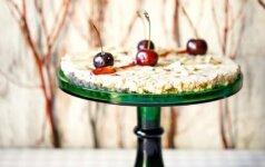 Chalvos tortas su persikais