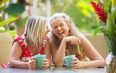 Apie senėjimą - kitaip, arba kodėl to paties amžiaus moterys atrodo skirtingai
