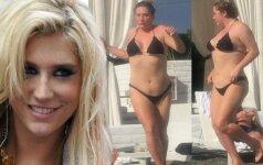 Problemos su svoriu: dainininkę Keshą sunku atpažinti