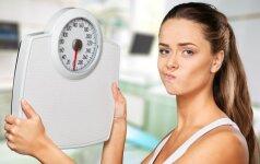 Dietologė pataria: kaip atsikratyti svorio negrįžtamai?