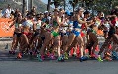Rio žaidynės: moterų 20 km sportinis ėjimas