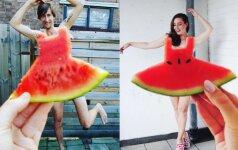 Instagramas pakvaišo dėl arbūzinių suknelių. Dar neturi nuotraukos? Atsilieki!